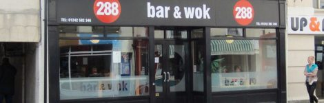 288 Bar And Wok Header Image